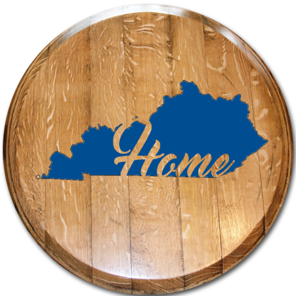 Kentucky Home Barrel head