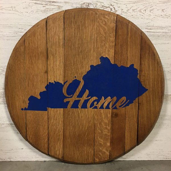 kentucky outline home blue