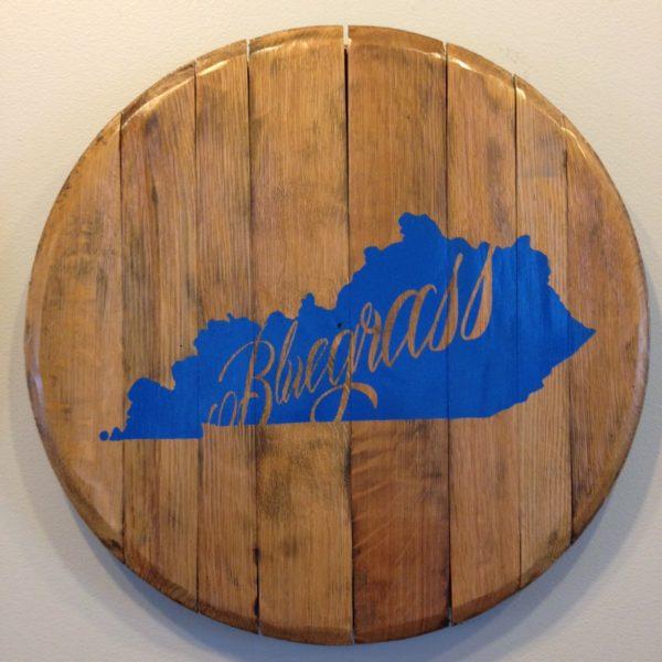 Bluegrass barrel head