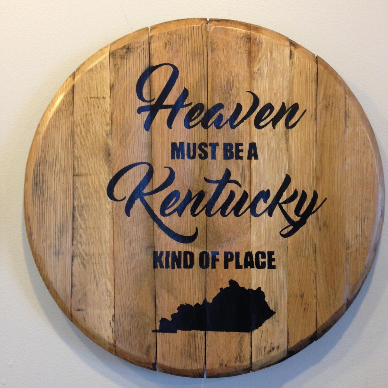 kentucky heaven barrel head black
