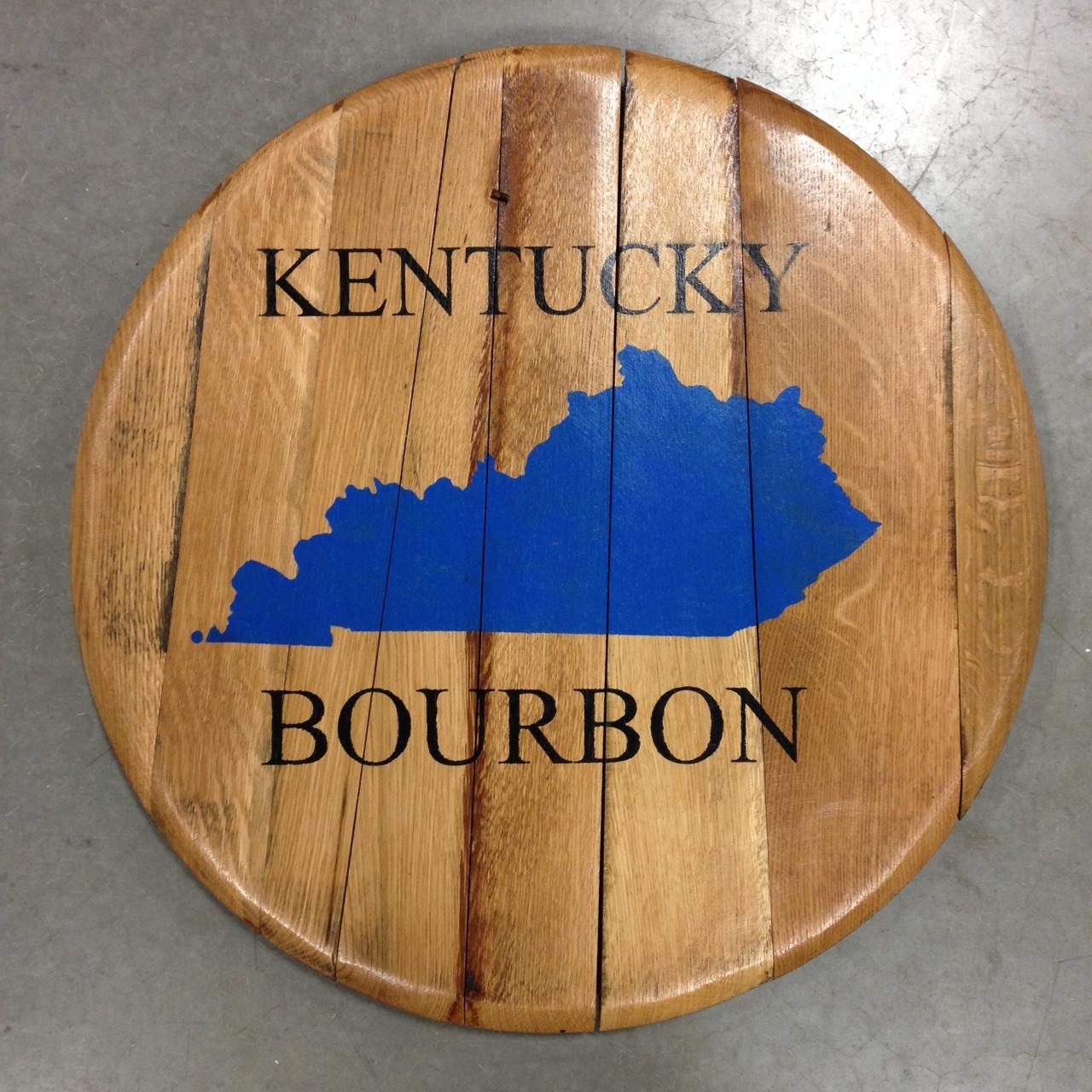kentucky bourbon barrel head