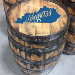 Full Size Kentucky Bourbon Barrels