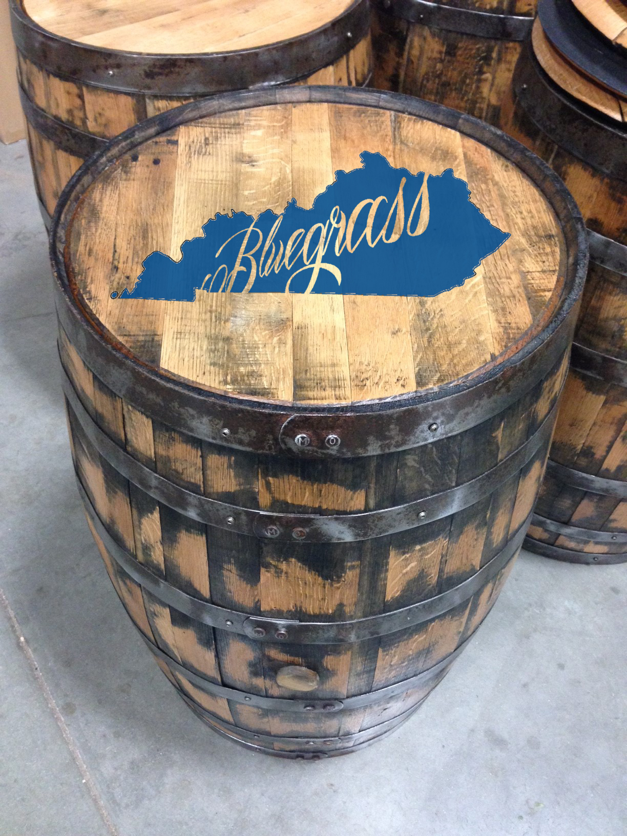 bluegrass bourbon barrel
