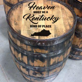 heaven in Kentucky bourbon barrel