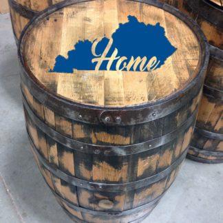 kentucky home bourbon barrel