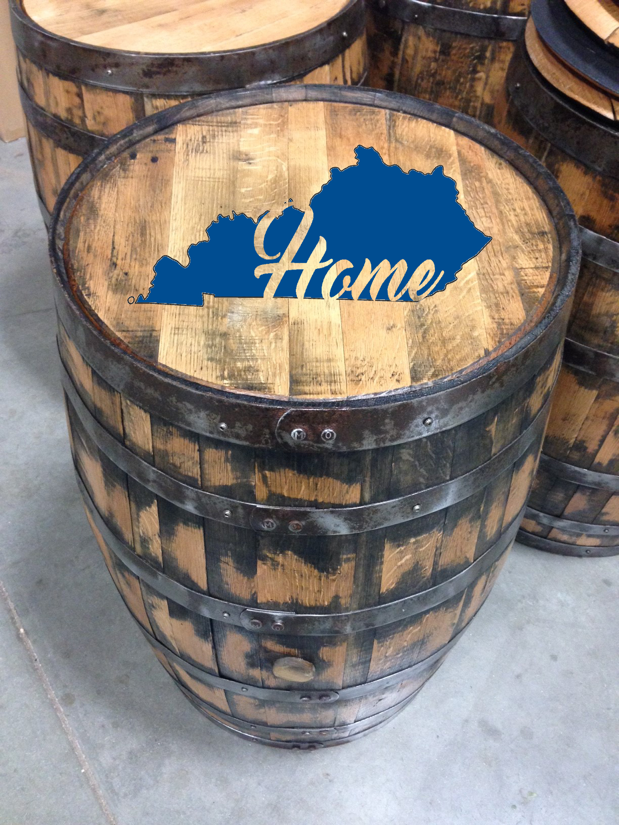 kentucky home bourbon barrel