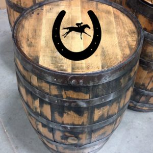 horse racing bourbon barrel