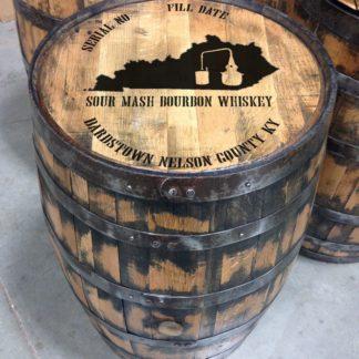 sour mash full-size barrel