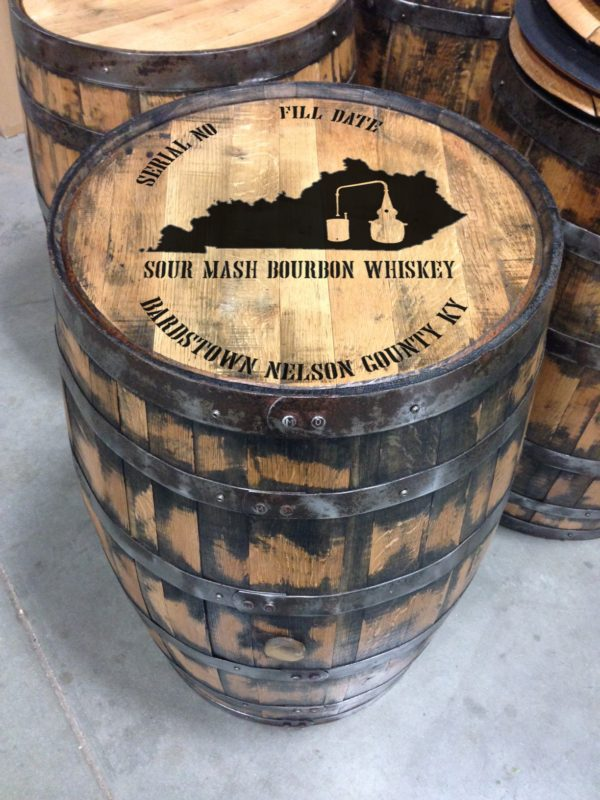 sour mash full-size barrel