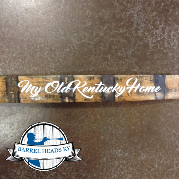 my old kentucky home barrel stave