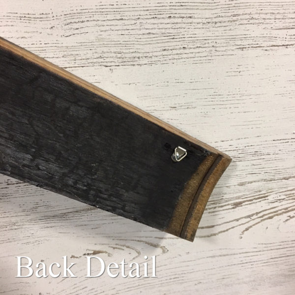barrel stave back detail