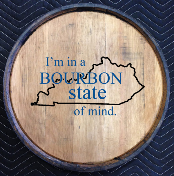 bourbon state of mind quarter barrel head