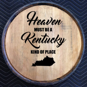 kentucky heaven quarter barrel head black