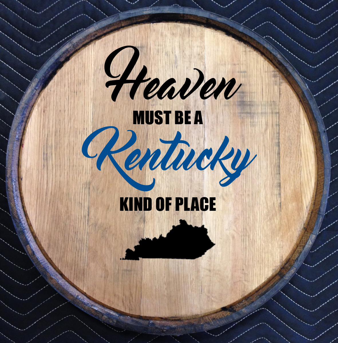 kentucky heaven quarter barrel head