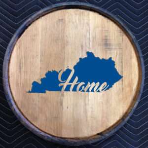kentucky home quarter barrel head