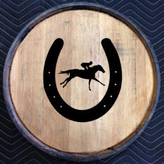 horseshoe quarter barrel head