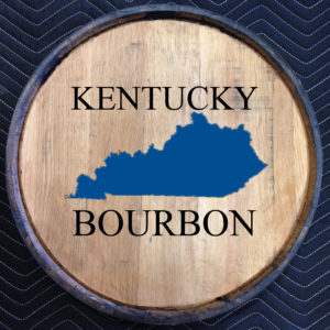 kentucky bourbon quarter barrel head