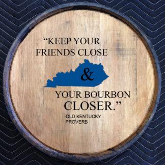 kentucky proverb quarter barrel head