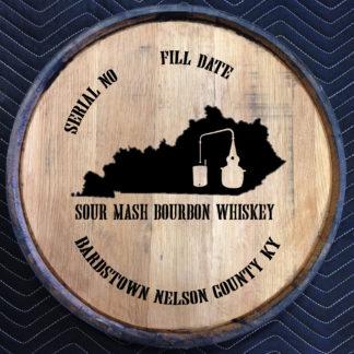 sour mash quarter barrel head