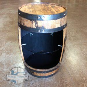 barrel with shelf
