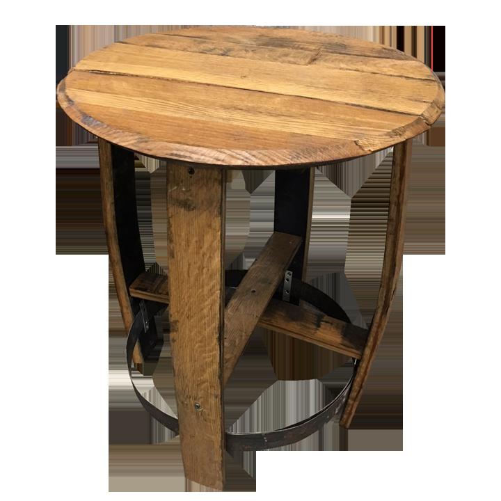 Bourbon Barrel Side Table Barrelheadsky, Bourbon Barrel Furniture