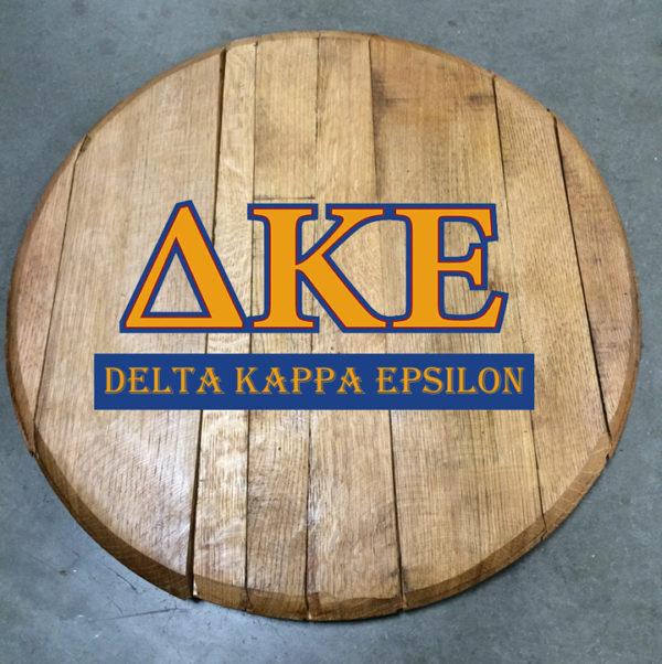 Delta Kappa Epsilon Fraternity Barrel Head
