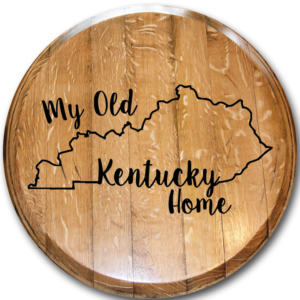my old kentucky home barrel head