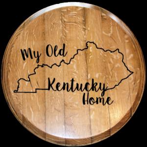 my old kentucky home barrel head
