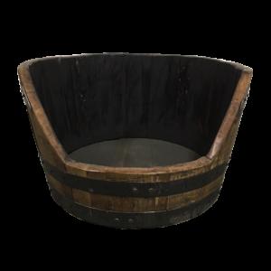 bourbon barrel dog bed