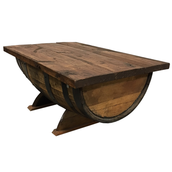 kentucky bourbon barrel coffee table