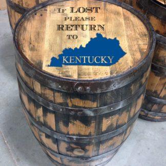 lost full size barrel