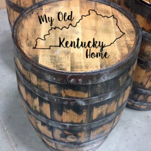 my old kentucky home full size barrel