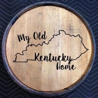 my old kentucky home quarter barrel head
