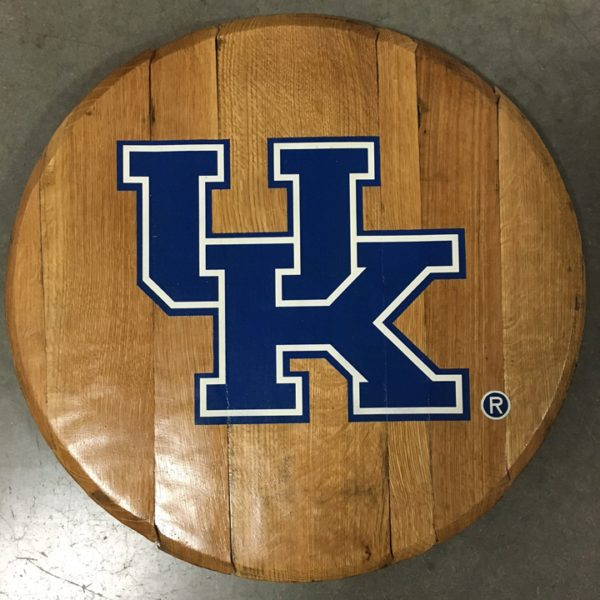 University of Kentucky Barrel Head