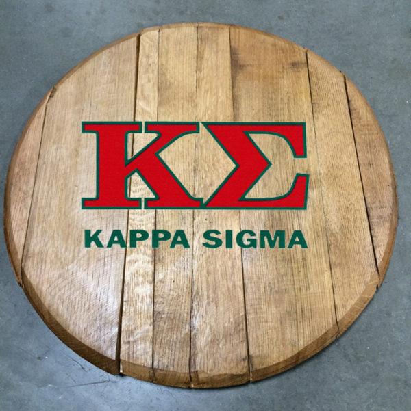 kappa sigma fraternity barrel head