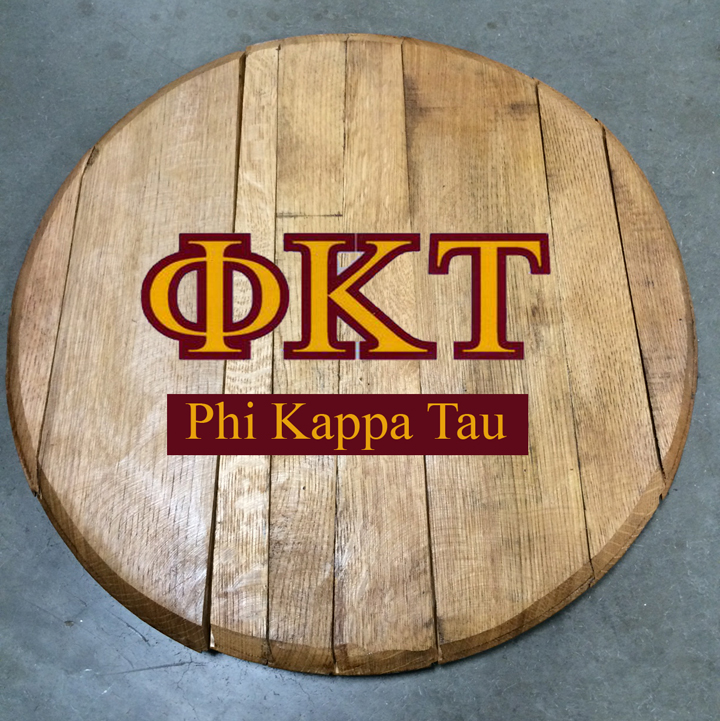 phi kappa tau fraternity barrel head