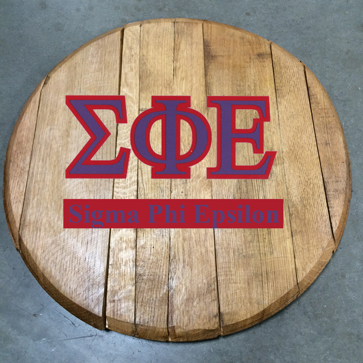 sigma phi epsilon fraternity barrel head