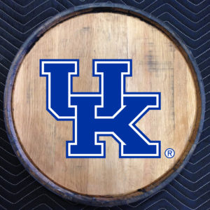 university of kentucky quarter barrel head
