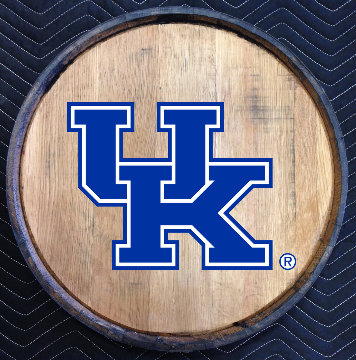 university of kentucky quarter barrel head