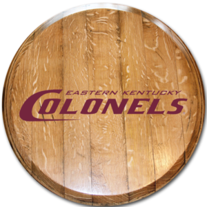 Eastern Kentucky Colonels Barrel Head