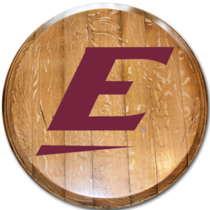 Eastern Kentucky University Barrel Head