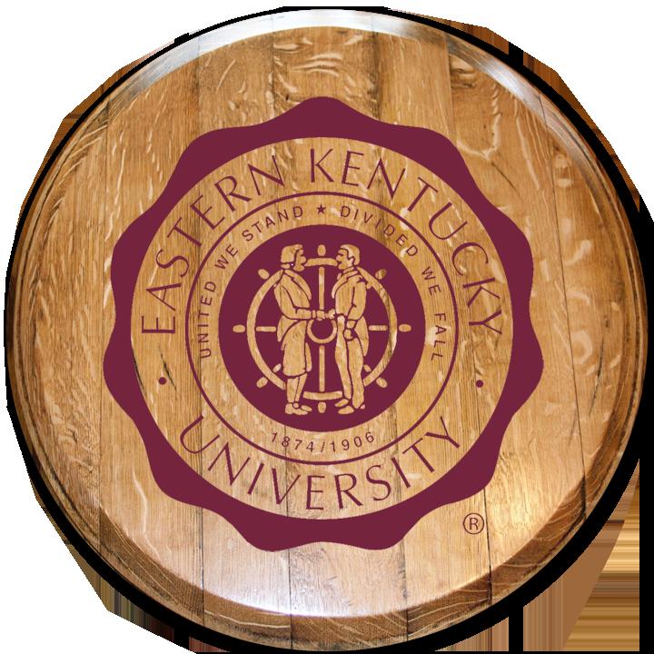 Eastern Kentucky University Barrel Head 4 Barrelheadsky