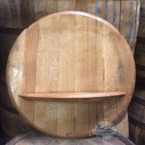 barrel head with shelf