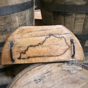 barrel cutting board w state outline