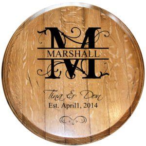 custom wedding barrel head des 3