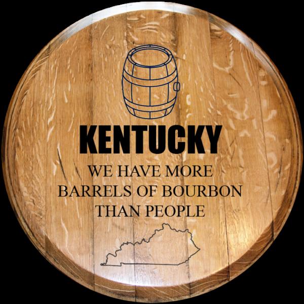 more barrels than people