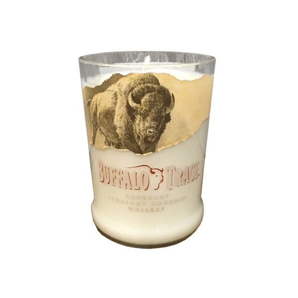 Recycled Buffalo Trace Bourbon Candle