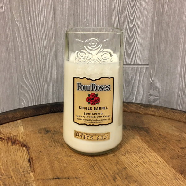 Recycled Four Roses Single Barrel Bourbon Candle